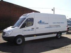 Long Wheel Base Merc Sprinter Freezer Van