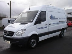 Mercedes sprinter medium wheel base for hire