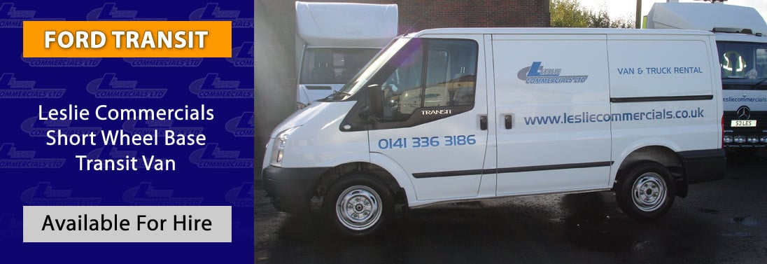 FORD TRANSIT SHORT WHEEL BASE FOR HIRE