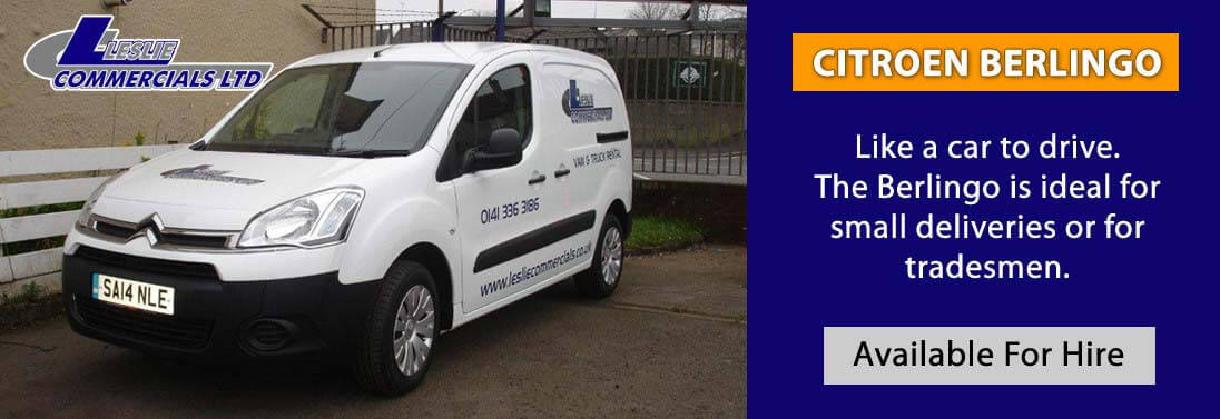 citroen berlingo van for hire