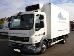 refrigerated 7.5 tonne truck